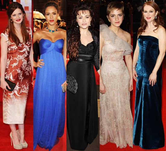 Best Dressed Celebrities at the 2011 BAFTA Awards