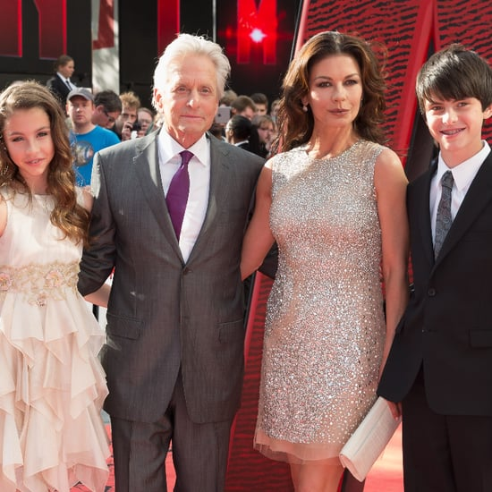 Michael Douglas Catherine Zeta-Jones Kids Ant-Man Premiere