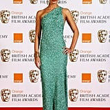 Emily Blunt sparkled in green in 2008.