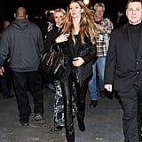 Gisele Bundchen at the Alexander Wang show.