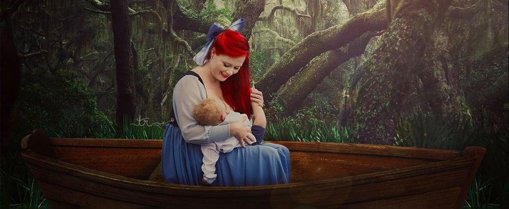 Little Mermaid Breastfeeding in Real Life