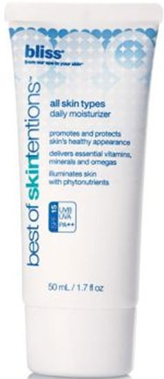 Reader Review of the Day: Bliss Best of Skintentions Daily Moisturizer