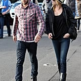 Emily VanCamp and Joshua Bowman stepped out in Australia.