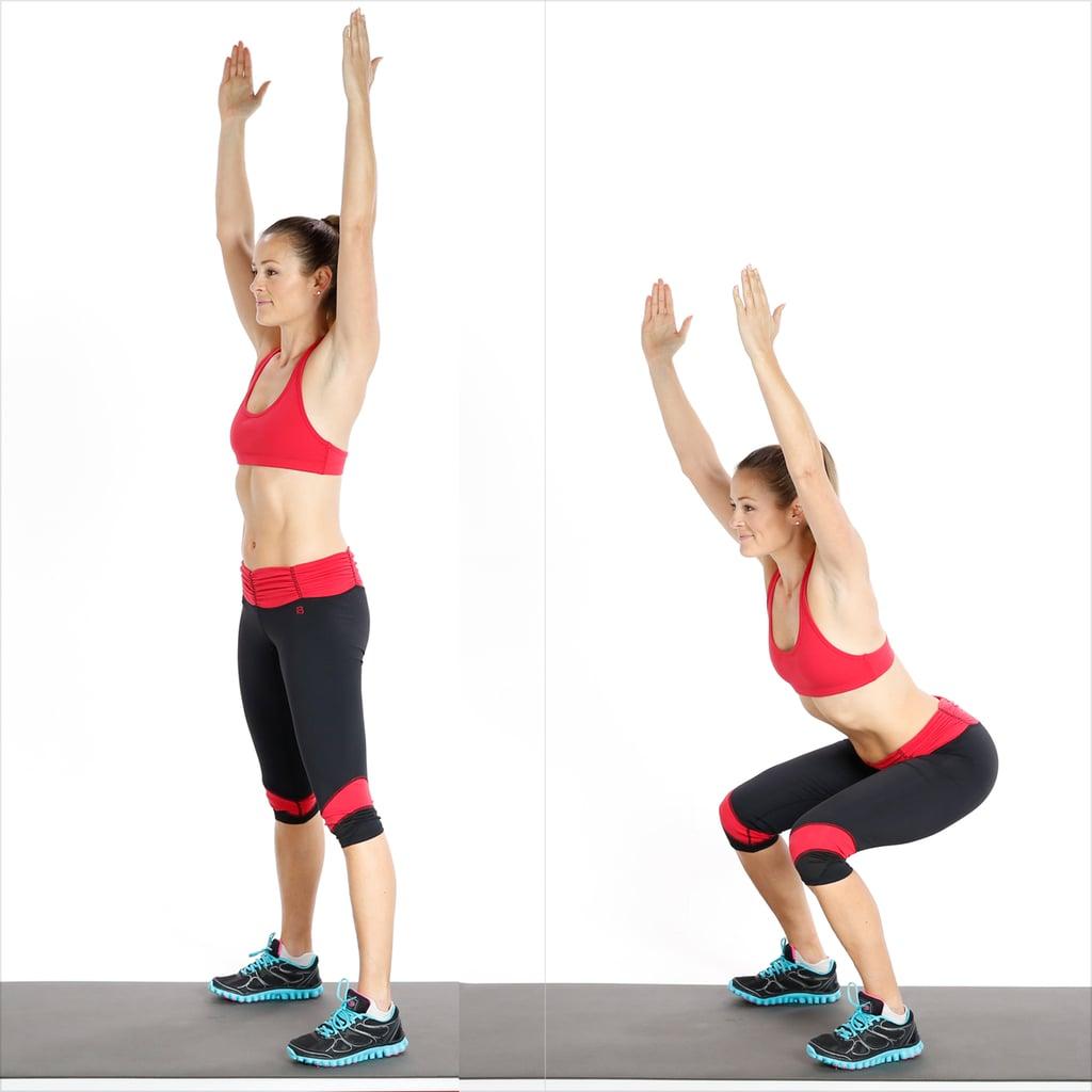 Squat and Reach