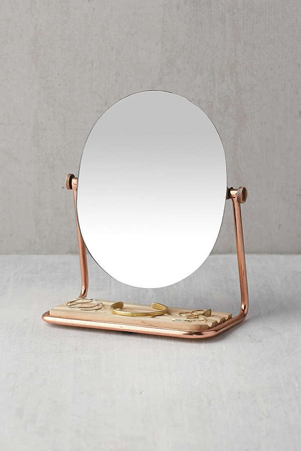 Urban Outfitters Elizabeth Tabletop Storage Mirror