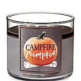 Campfire Pumpkin Three-Wick Candle
