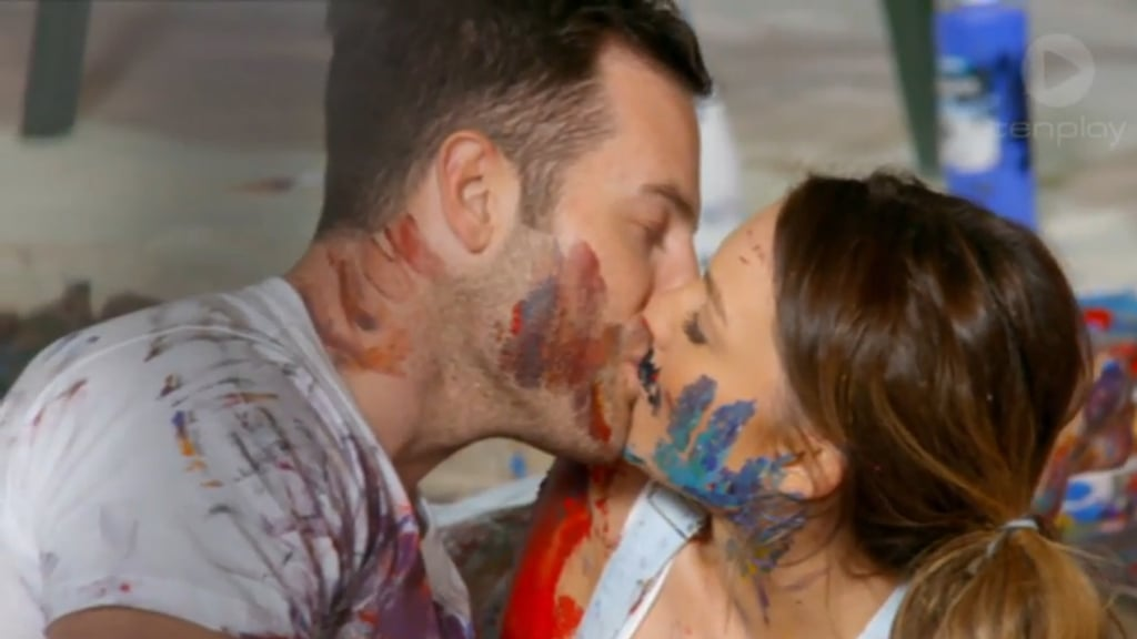 Pictures of Sasha and Sam Frost From The Bachelorette