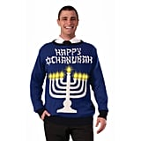 Chanukah Light-Up Menorah Sweater