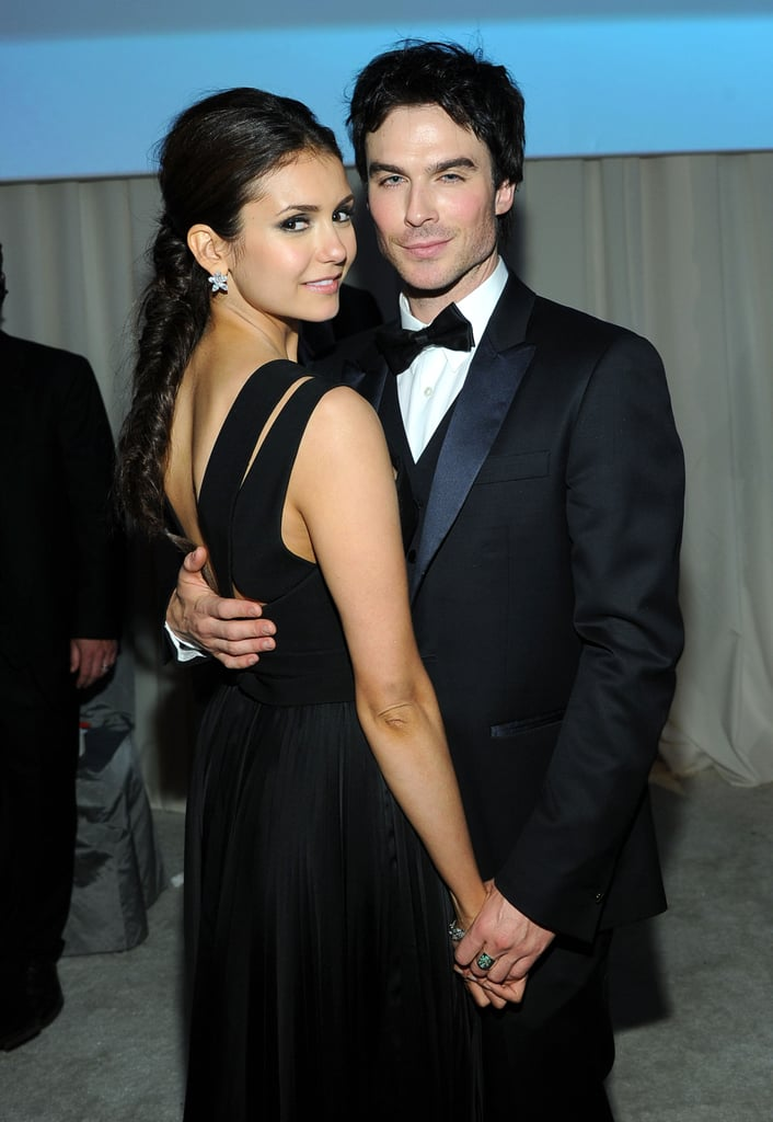 Even though reports are claiming that Nina Dobrev is no longer on speaking terms with her ex-boyfriend and Vampire Diaries co-star Ian..
