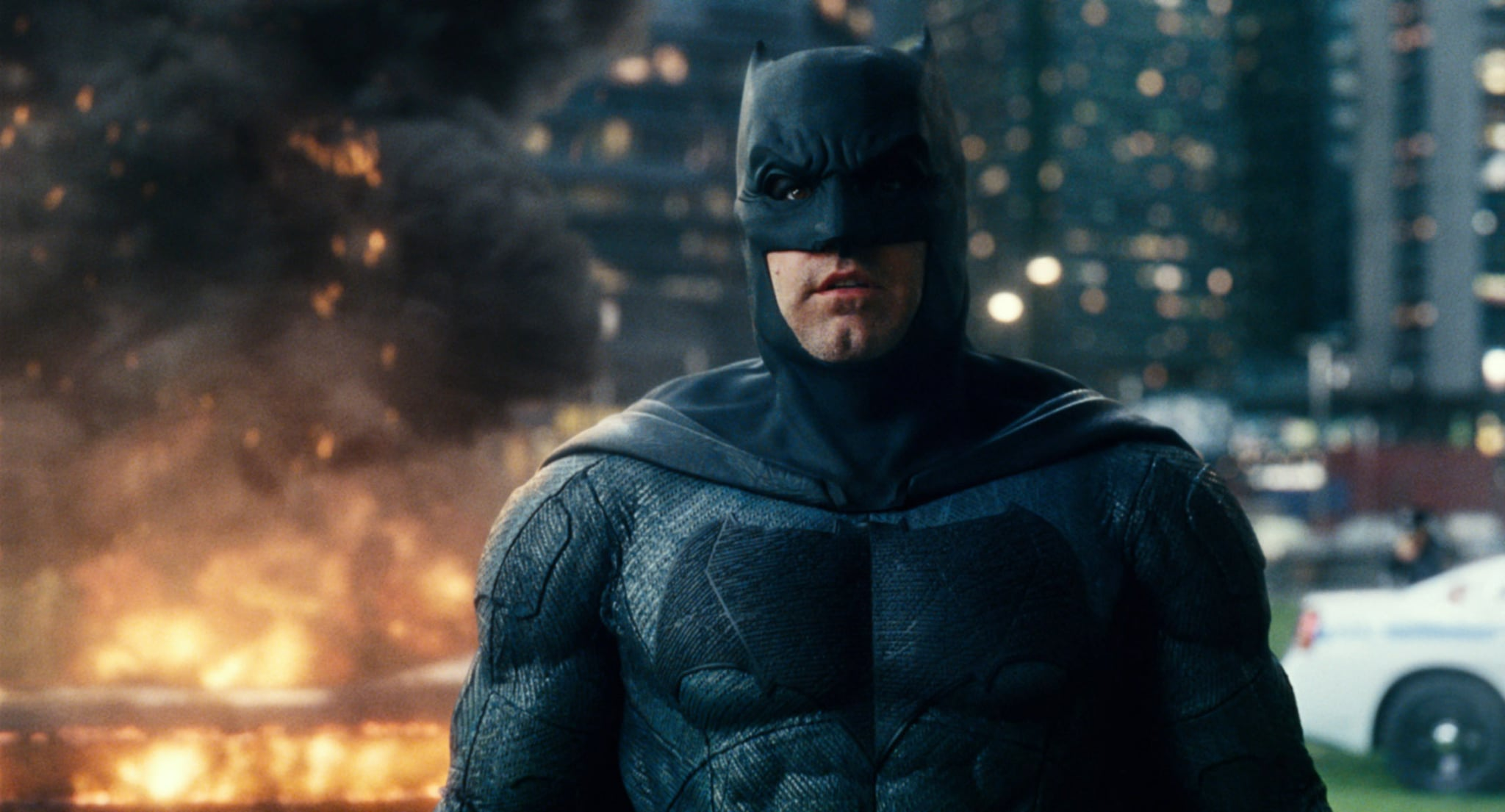 JUSTICE LEAGUE, Ben Affleck as Batman, 2017.  Warner Bros. Pictures /Courtesy Everett Collection