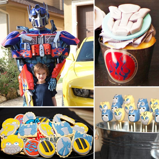 A Transformers Birthday Party