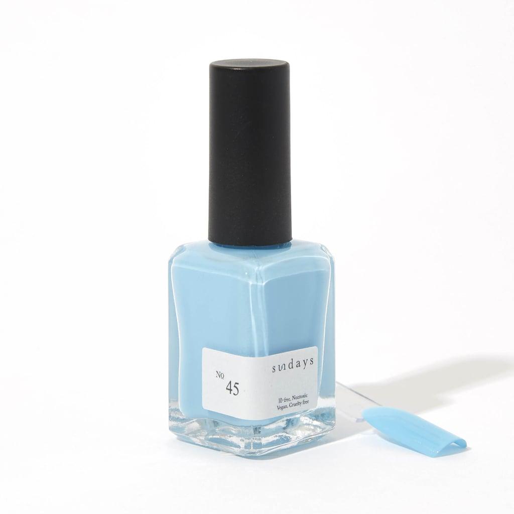 2021 Nail-Polish Colour Trend: Delicate Blues
