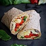 Mediterranean Vegetable Wraps With Freekeh