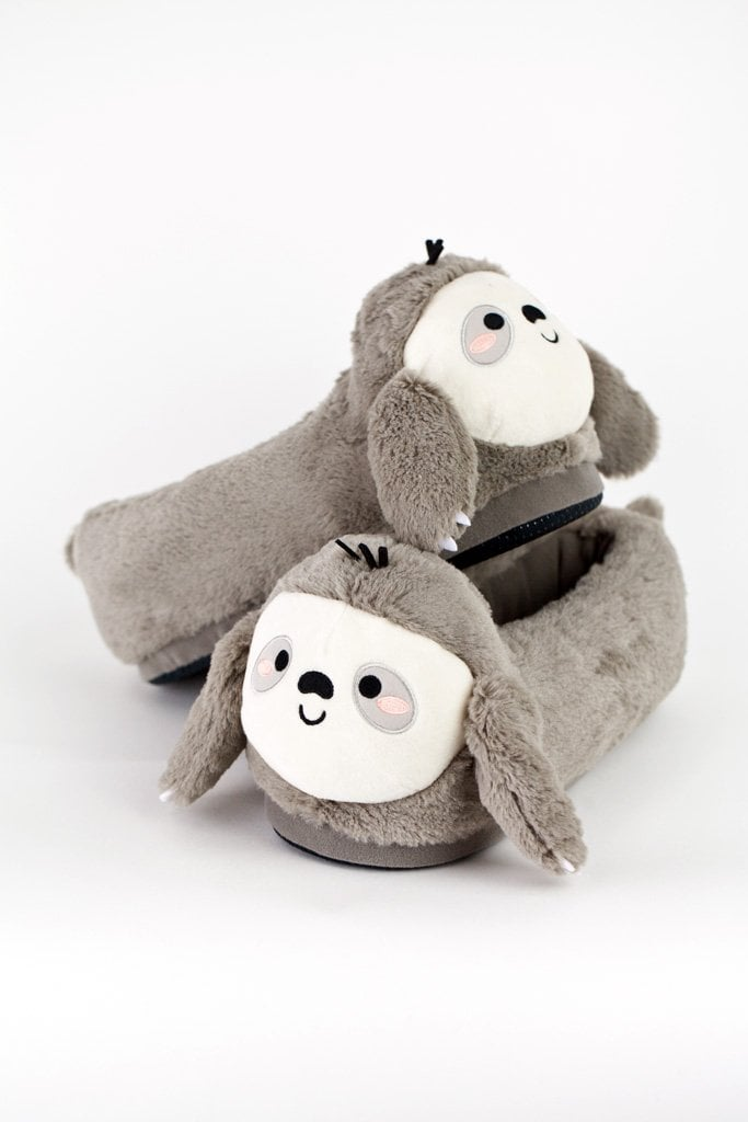 Smoko Sloan Sloth USB Heated Slippers