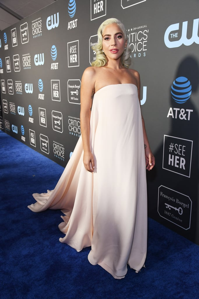 Lady Gaga Dress at the Critics' Choice Awards 2019