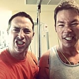 Josh Temple and David Bromstad