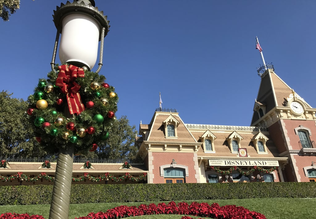 if you go from november through january you can experience the holidays at disneyland