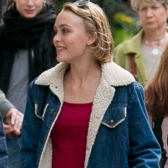 Lily-Rose Depp Wearing Jean Jacket
