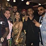 Shania Twain, Nicki Minaj, French Montana, The Weeknd, and Nav