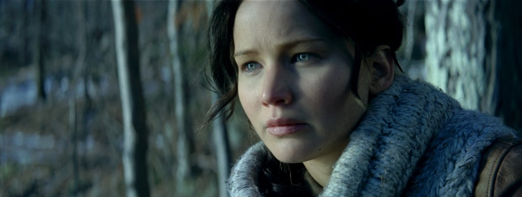 Jennifer Lawrence as Katniss in Catching Fire.