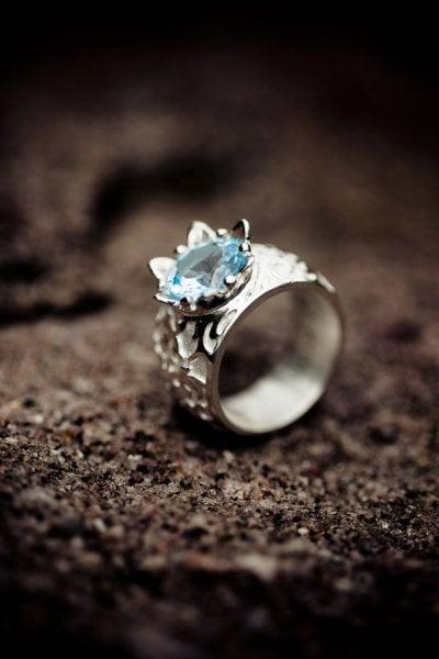German Fairy-Tale Crown Ring