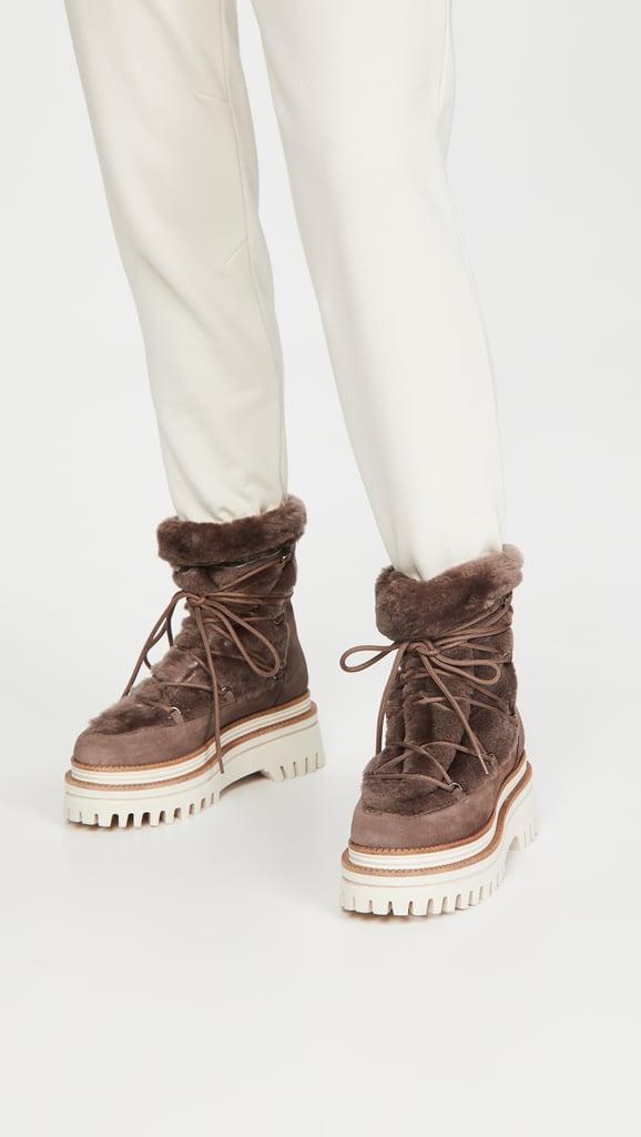 Paloma Barcelo Nazare Shearling Boots