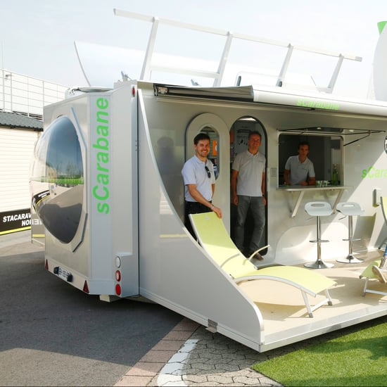 sCarabane Solar Powered Camper