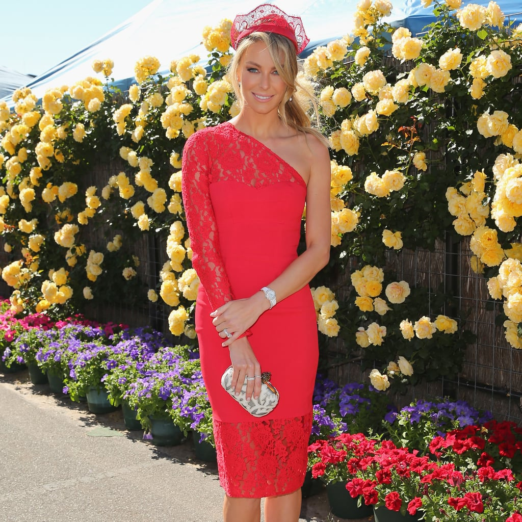 Paris Hilton Attended the 2017 Melbourne Cup with Handsome ...