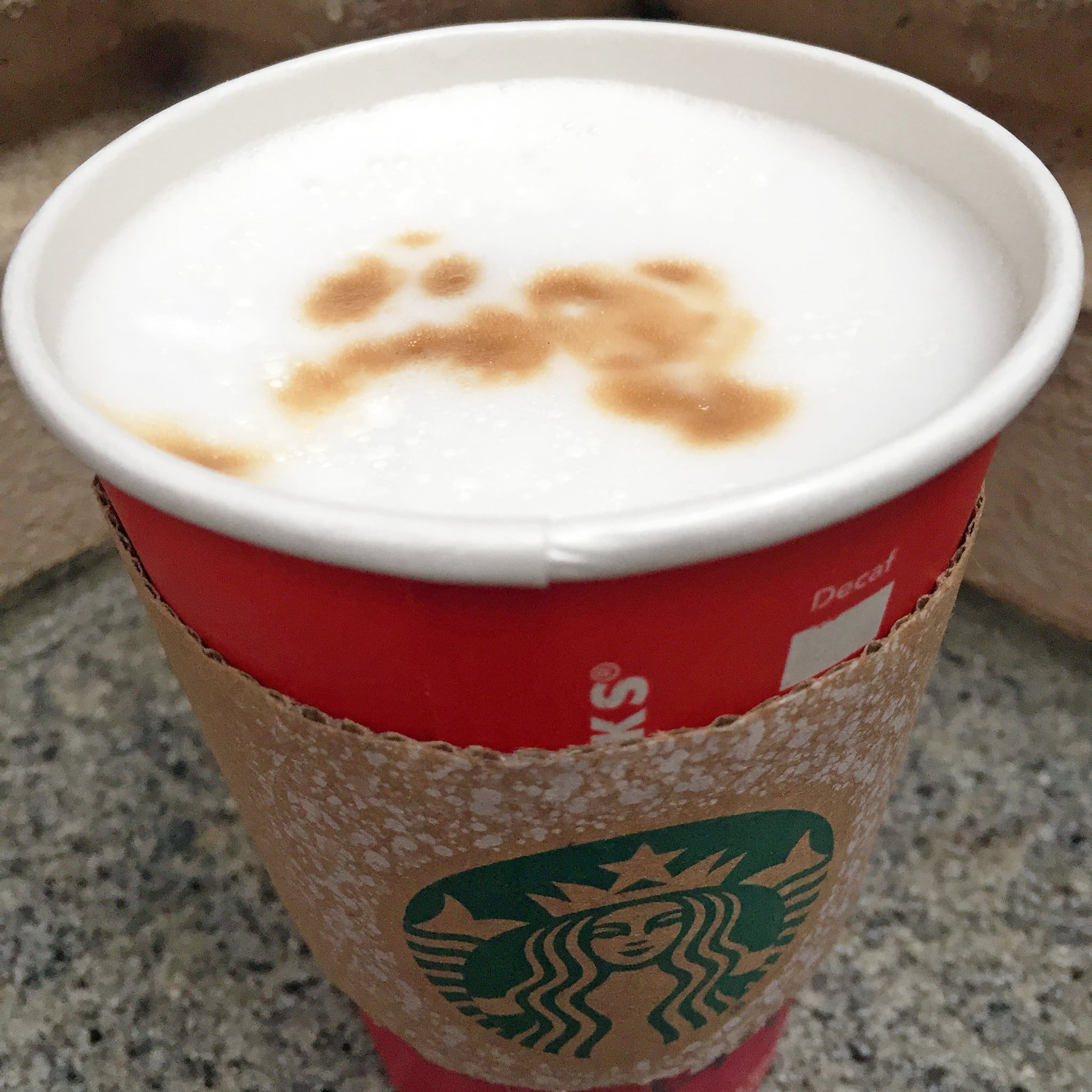 starbucks latte macchiato review popsugar food