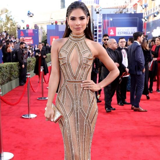 Alejandra Espinoza's Naked Dress at Latin Grammy Awards 2016