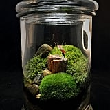 """I Love You"" Moss Terrarium"