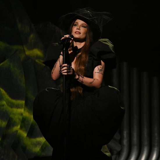 Halsey Performs in a Black Christian Siriano Dress on SNL