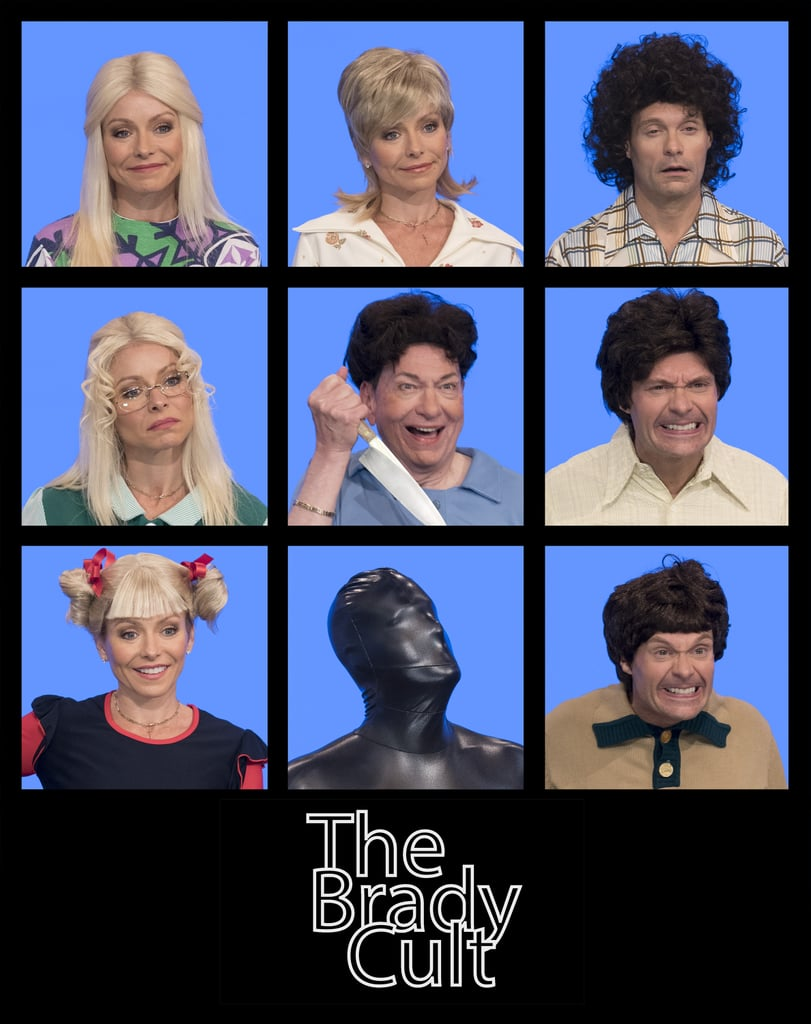 "The Brandy Bunch takes on a comedic new sinister look as ""The Brady Cult."""
