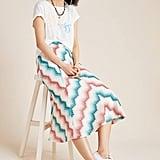Maria Chevron Sweater Skirt