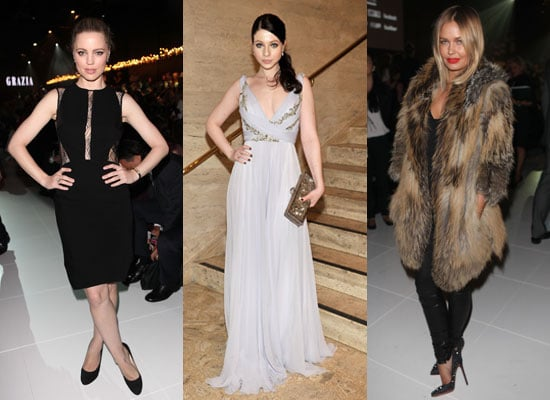 Roundup of Celebrity Fashion on FabSugar Australia Kate Moss, Lara Bingle, Emma Watson, Jennifer Hudson