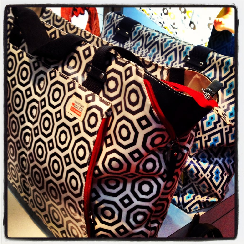 Skip Hop will also introduce new patterns — and a new bag design — from Jonathan Adler in February.