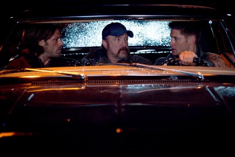 Supernatural Jensen Ackles, Jim Beaver, and Jared Padalecki on Supernatural.