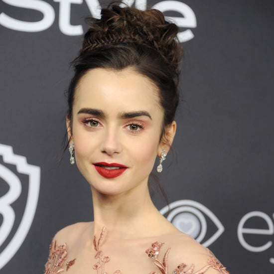 Is Lily Collins British?