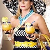 Remember that time her accessories happened to match her drinks?