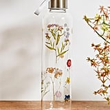 Urban Outfitters Pressed Flowers Water Bottle