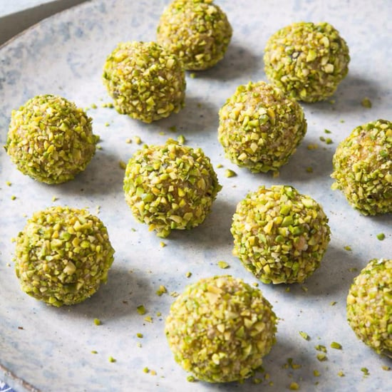 Healthy Apricot and Pistachio Protein Balls