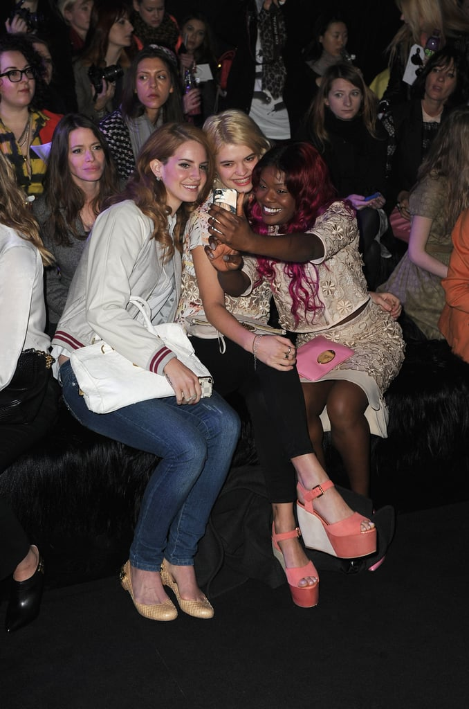 Lana Del Rey, Pixie Geldof and Azealia Banks