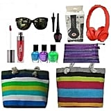 Gloss and Glamour Showbag ($22) Includes:  Headphones  Beach tote  Liquid eye liner