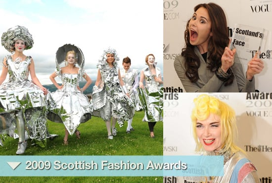 Photos from the 2009 Scottish Fashion Awards, Pam Hogg, Jenni Falconer, Jade Parfitt