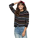 POPSUGAR Long Sleeve Boxy Sweater