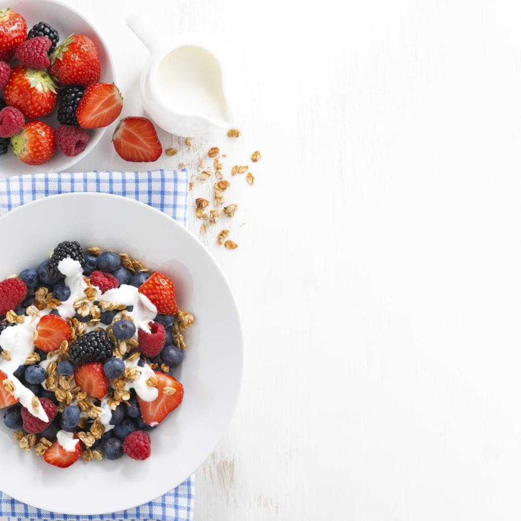 Fresh Fruit and Yogurt