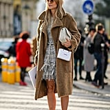 With a Fluffy Coat and a Tweed Dress