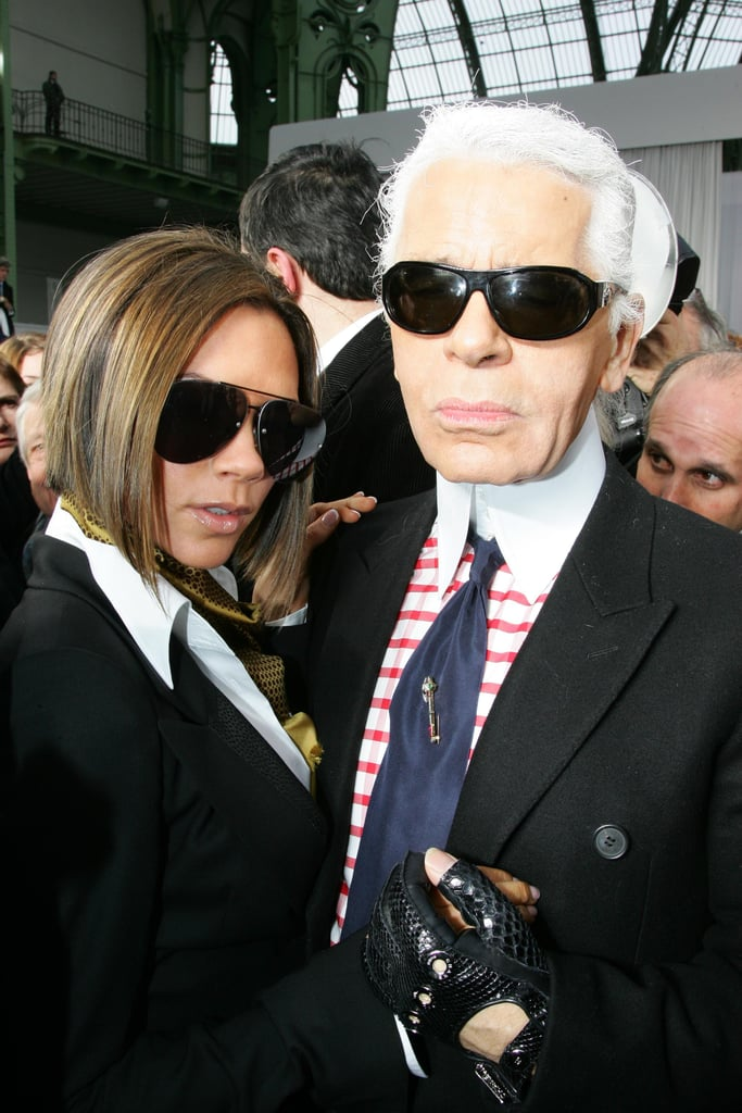 With Another Iconic Sunglasses Connoisseur, Karl Lagerfeld
