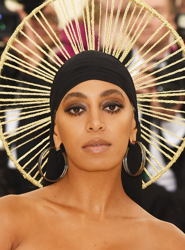 Solange's Braided Halo at the 2018 Met Gala