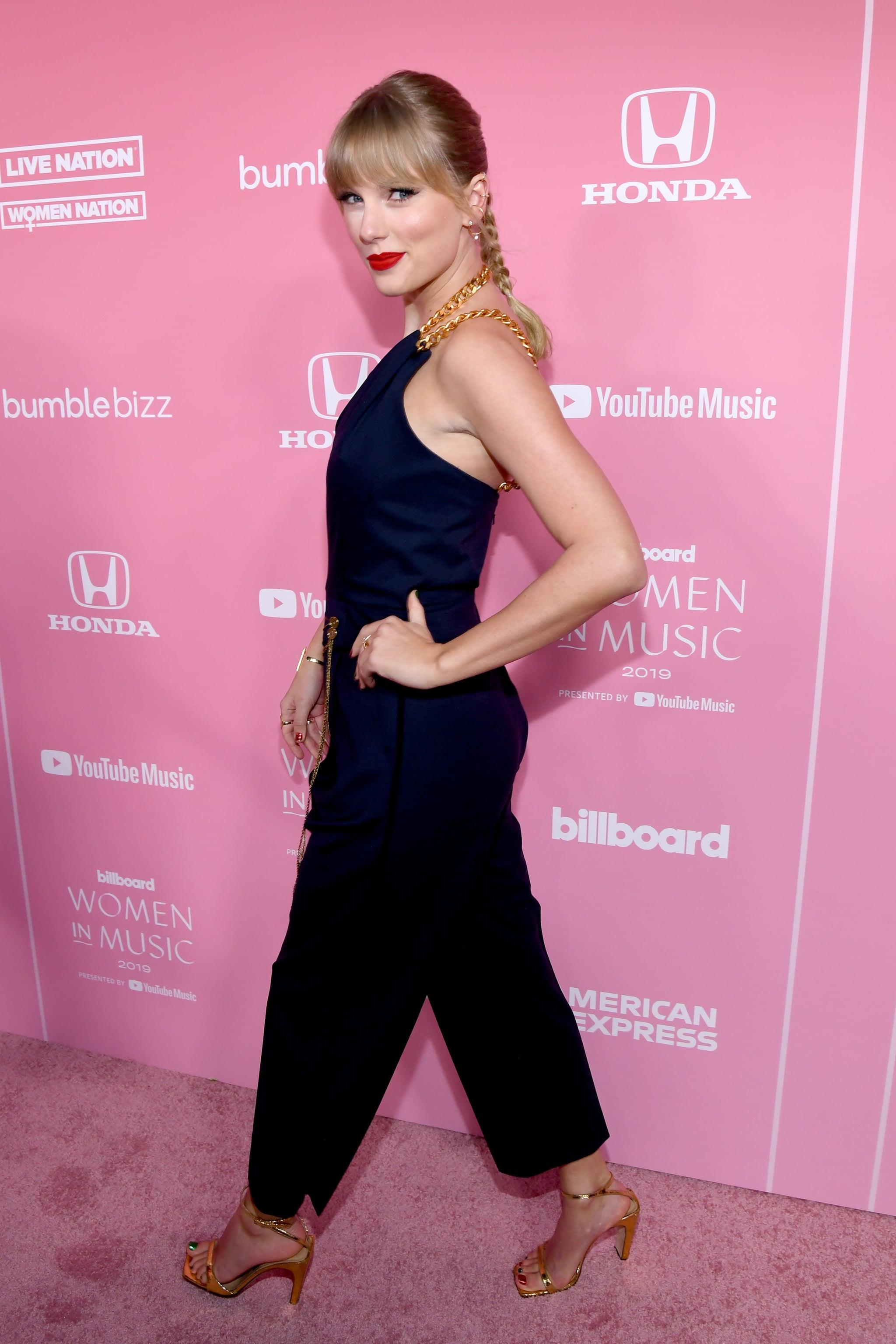 Watch Taylor Swift S Inspiring Billboard Acceptance Speech Popsugar Entertainment